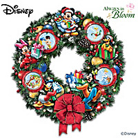 It\'s A Magical Disney Christmas Wreath