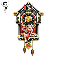 Betty Boop Cuckoo Clock