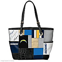 For The Love Of The Game Los Angeles Chargers Tote Bag