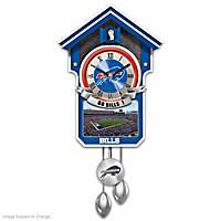 Buffalo Bills Cuckoo Clock