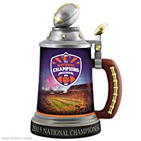 Clemson Tigers 2015 National Champions Stein