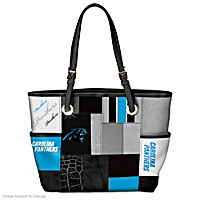 For The Love Of The Game Carolina Panthers Tote Bag