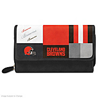 For The Love Of The Game Cleveland Browns Wallet