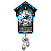 Carolina Panthers Cuckoo Clock