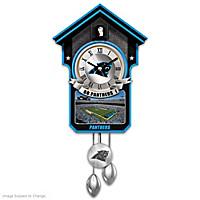 Carolina Panthers Cuckoo Clock