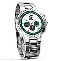 Michigan State Spartan\'s Men\'s Collector\'s Watch