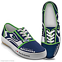 I Love The Seahawks Women\'s Shoes