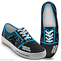 I Love The Panthers Women\'s Shoes