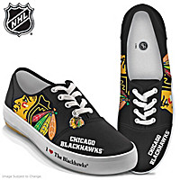 I Love The Blackhawks® Women's Shoes