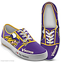 I Love The Vikings Women\'s Shoes