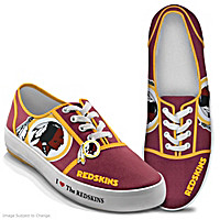 I Love The Redskins Women\'s Shoes