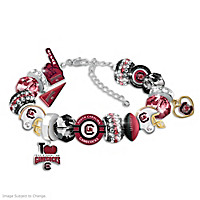 South Carolina Gamecocks Fashionable Fan Bracelet