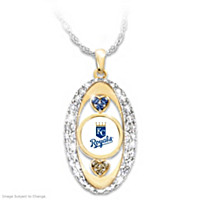 For The Love Of The Game Royals Pendant Necklace