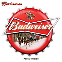 Budweiser Bottle Cap Marquee Wall Decor