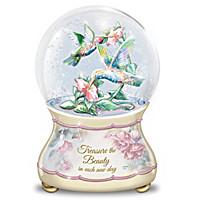 Beautiful Treasures Glitter Globe