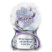 My Friend, I Wish You Glitter Globe
