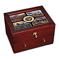 U.S. Army: Defenders Of Freedom Keepsake Box