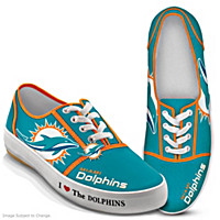 I Love The Dolphins Women\'s Shoes