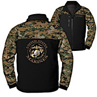 Marine Corps Spirit Men\'s Jacket