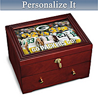 Green Bay Packers Personalized Strongbox