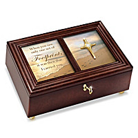Footprints In The Sand Music Box