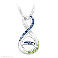 Seattle Seahawks Forever Pendant Necklace