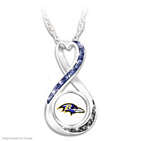 Baltimore Ravens Forever Pendant Necklace