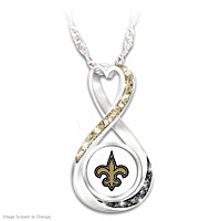New Orleans Saints Forever Pendant Necklace