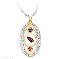 For The Love Of The Game Cardinals Pendant Necklace