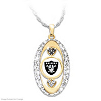 For The Love Of The Game Raiders Pendant Necklace