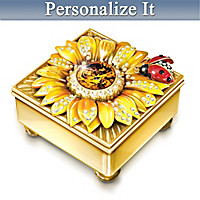 Daughter Mini Treasures Personalized Music Box