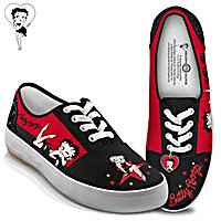 Betty Boop Movie Star Women\'s Shoes