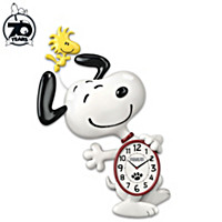 Snoopy Motion Wall Clock