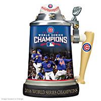 Chicago Cubs 2016 World Series Stein