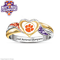 Clemson 2016 College National Champions Pride Ring