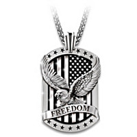 Freedom's Reign Pendant Necklace