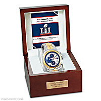 New England Patriots Super Bowl LI Champions Men's Watch