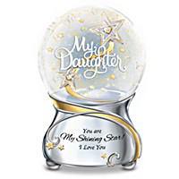 My Daughter, You Are My Shining Star Glitter Globe