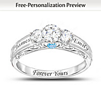 Forever Yours Personalized Ring