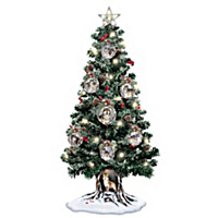 Sovereigns Of The Forest Tabletop Christmas Tree