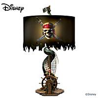 Disney Pirates Of The Caribbean Lamp