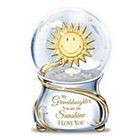 My Granddaughter, You Are My Sunshine Glitter Globe