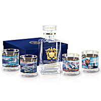 Navy Salute Decanter Set