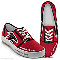 I Love The Falcons Women\'s Shoes