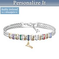 kathy ireland A Mother's Love Personalized Bracelet