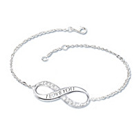 Infinite Love Daughter Diamond Bracelet