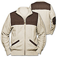 Irish Spirit Men's Sweater Jacket