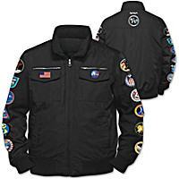 Space Mission Men\'s Jacket