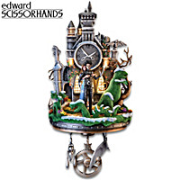 Edward Scissorhands Wall Clock