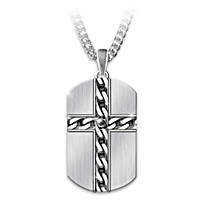 Strong & Courageous Pendant Necklace